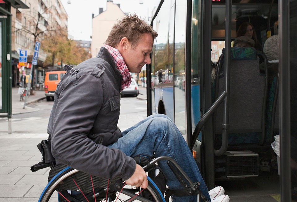 Disabled Rider